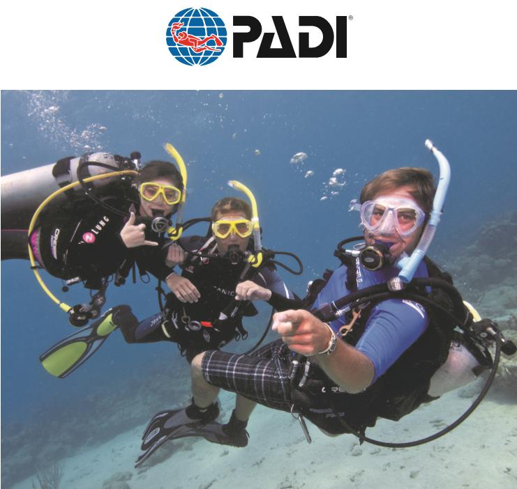PADI Certifications