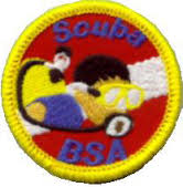BSA Scuba Patch